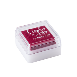 Stamp pad - Versa small Rose red