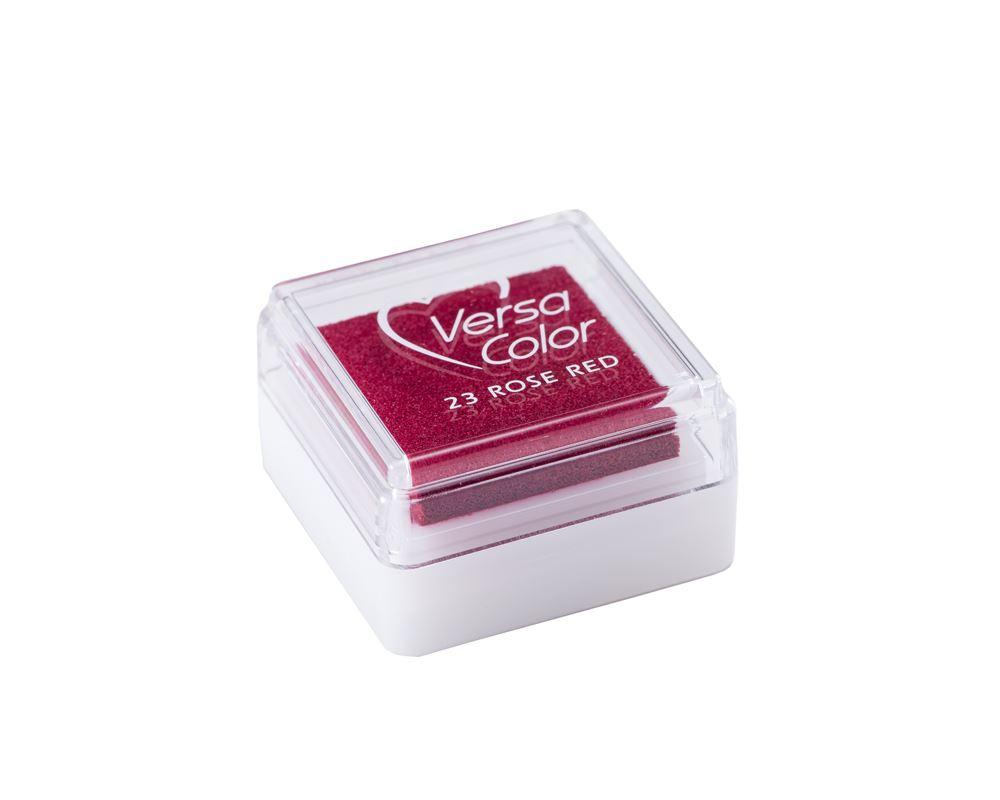 Stamp pad - Versa small Rose red