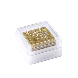 Stamp pad - Versa small Gold
