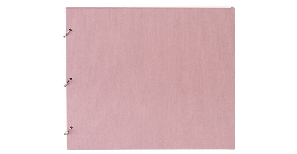 Photo album 325*275 Ottawa Dusty pink Columbus white sheets L