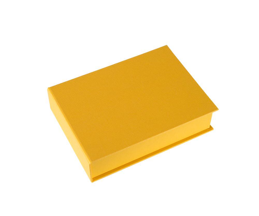 Box cloth/paper A5 Savanna sun yellow