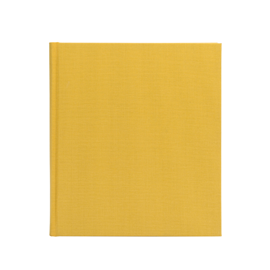 Carnet en toile, sun yellow