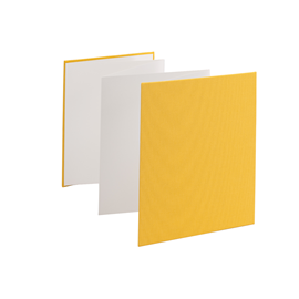 Accordion photo 150*187 Savanna sun yellow white sheets