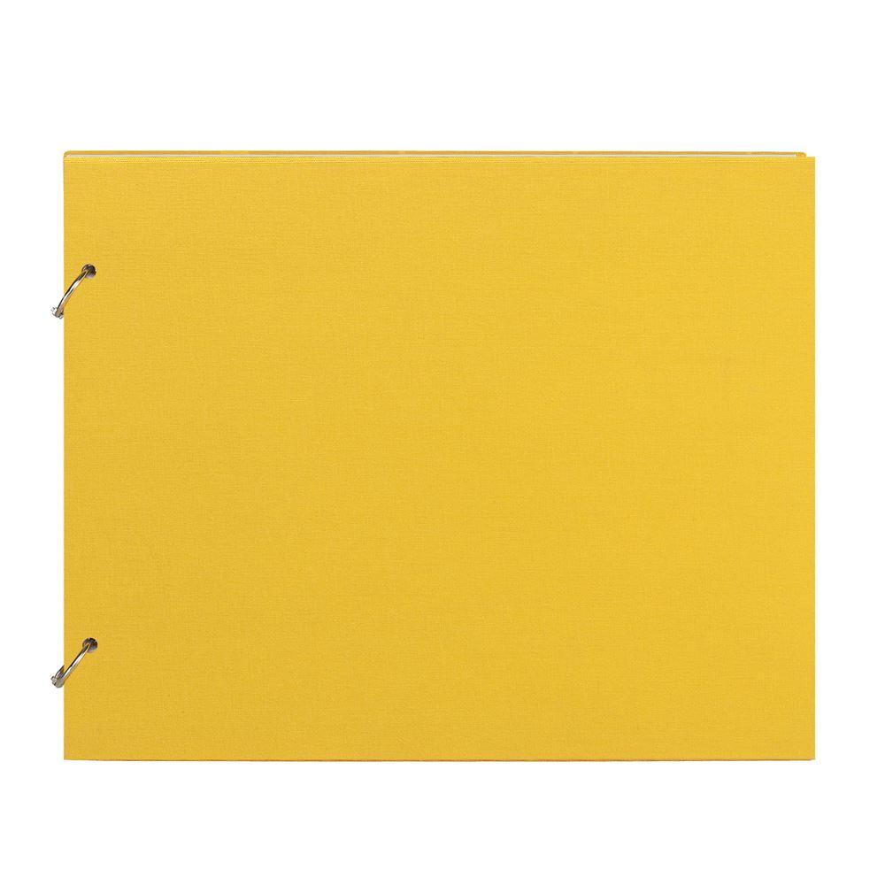 """Photo album """"Columbus"""" Sun Yellow Medium"""