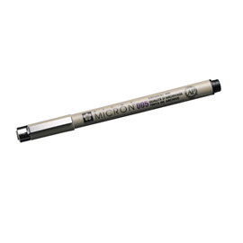 Micron pen no 005 black