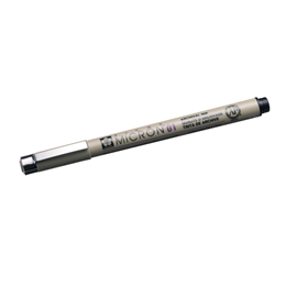 Micron pen no 01 black