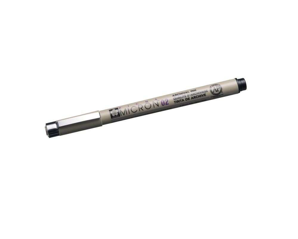 Micron pen no 02 black