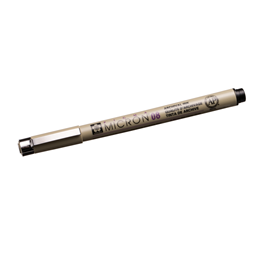 Micron pen no 08 black