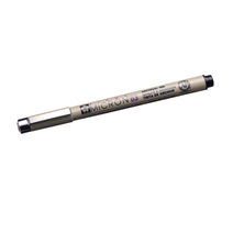Micron pen no 03 black