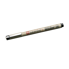 Micron Graphic pen no 1 black