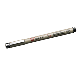Micron Graphic pen no 2 black