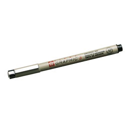 Micron Graphic pen no 3 black