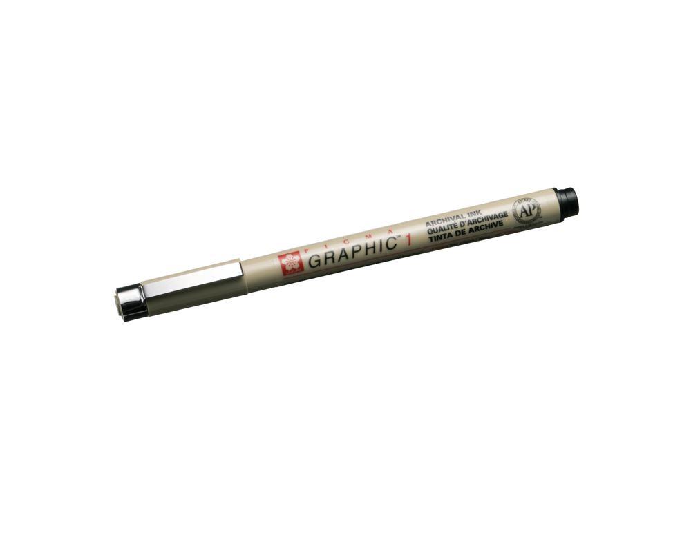 Micron Graphic pen no 1 black