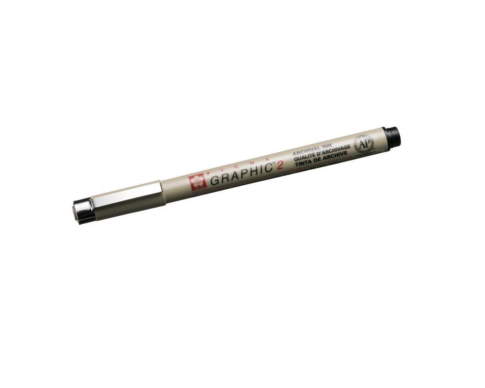 Micron Graphic pen no 2 black