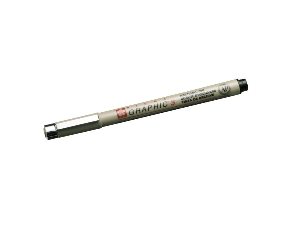 Micron Graphic pen, Black