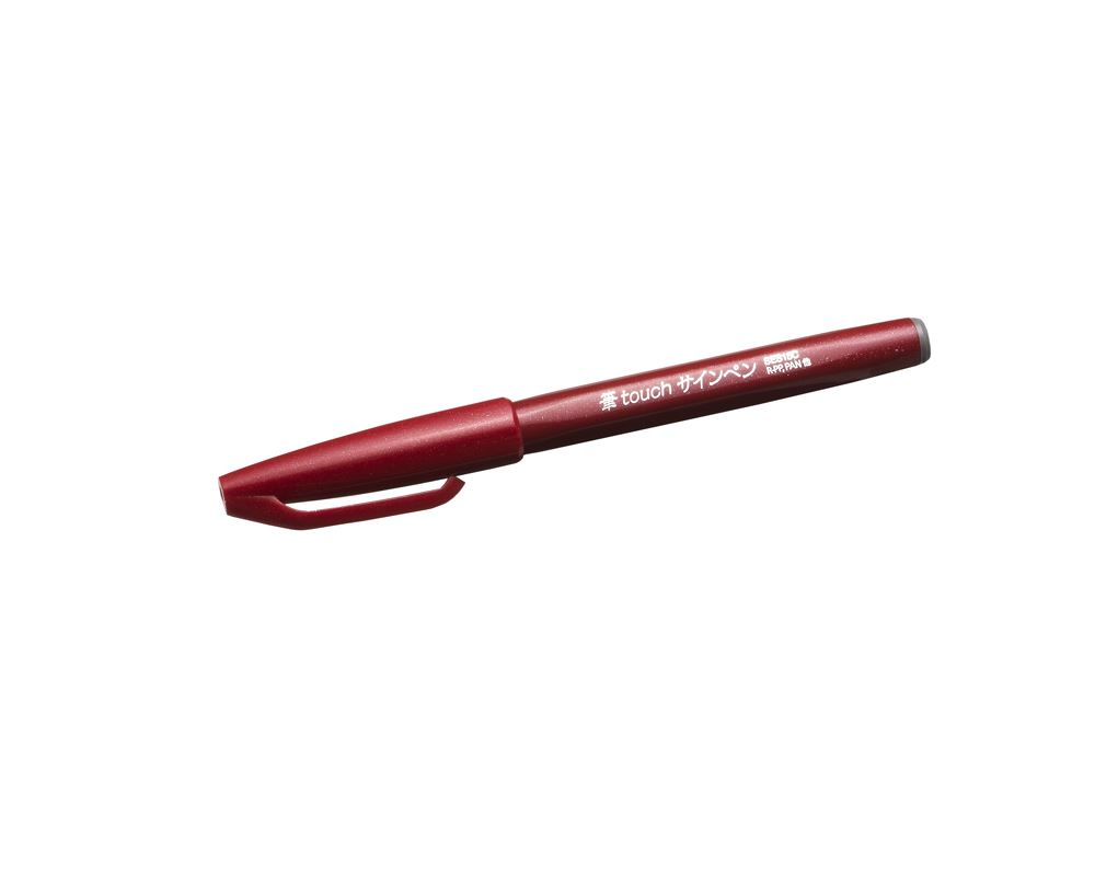 Pentel touch pen red