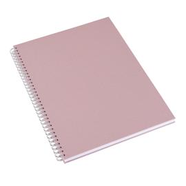 Notizbuch mit Ringbindung, Dusty Pink
