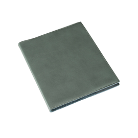 Carnet en cuir, Dusty Green
