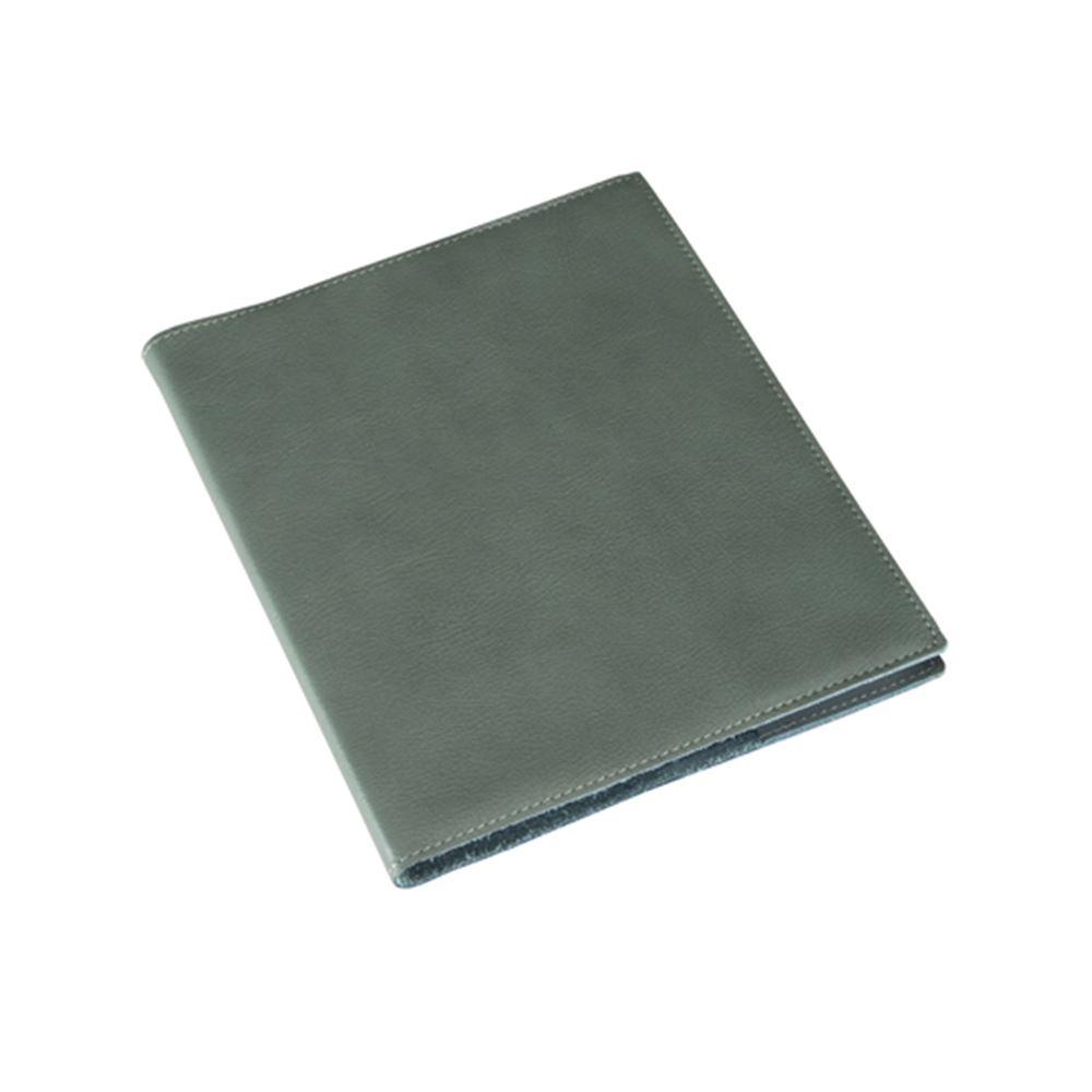 Notizbuch mit Ledereinband, dusty green
