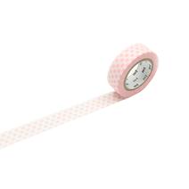 Washi tape - dot strawberry milk
