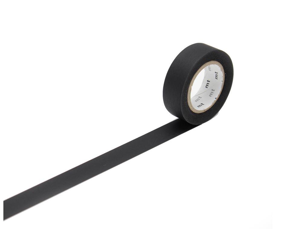 Masking tape - matte black