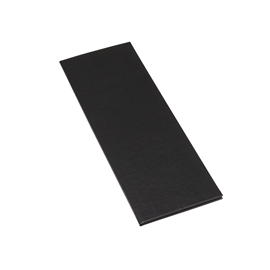 Menu Folder Cloth Plain A4 Slim/105*297 Mondial Black