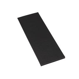 Menu Folder Cloth Plain A4 Slim/105*297 Mondial Black