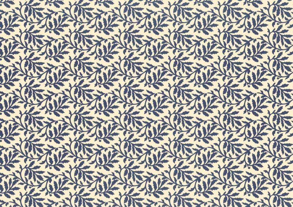 Carta Varese Blätter blå