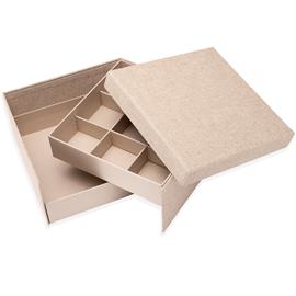 Box Jewel medium Record Sand