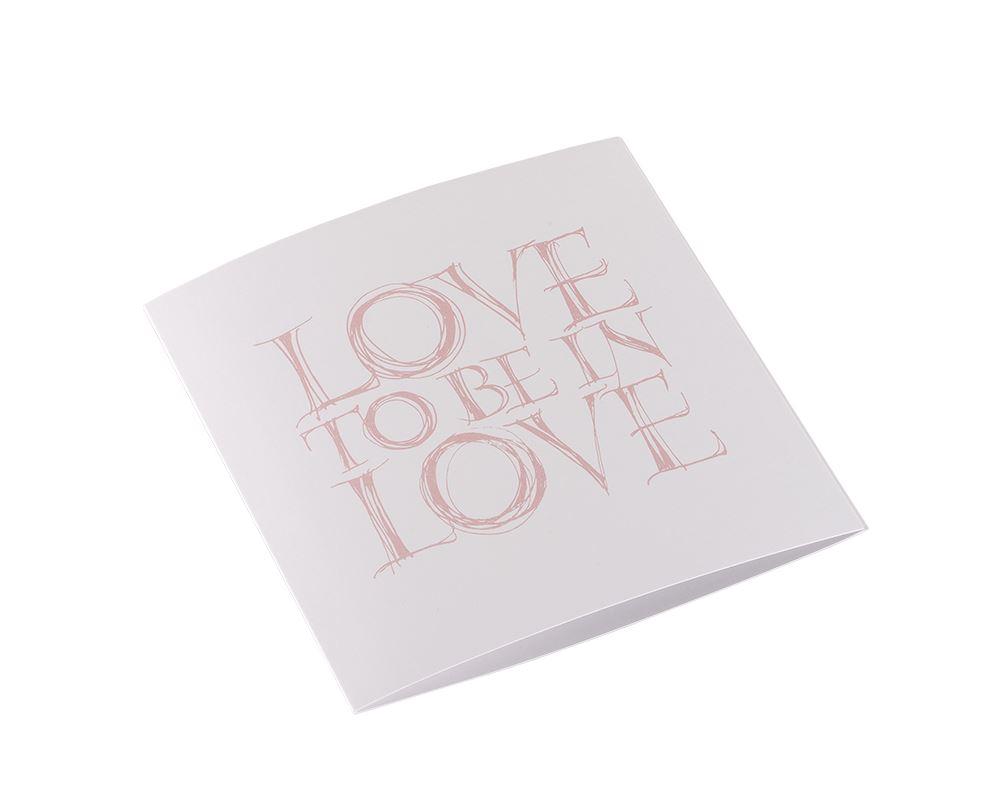 """Card """"Love"""""""