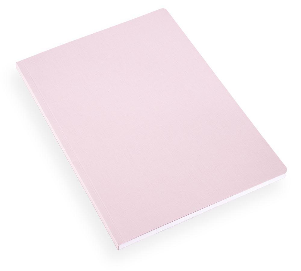 NOTEBOOK SOFT COVER, LIGHT GREY