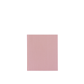 Carnet toilé, Dusty Pink