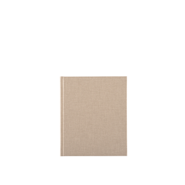 Carnet toilé, Sand Brown