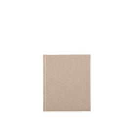 Notizbuch gebunden, Sandbrown