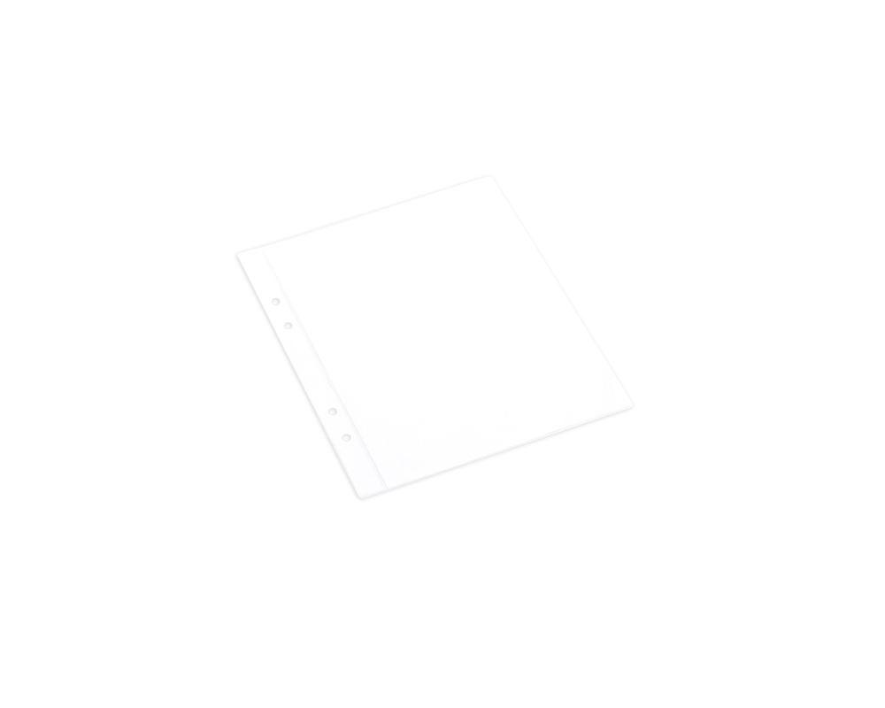 Plastic pocket for binder. 10pcs.