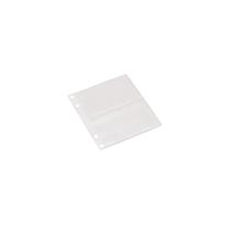 Pochettes Plastiques Perforees, pour Cartes de Visite