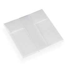 Envelope 152x152 white cotton paper 10 pcs