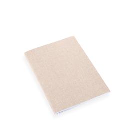 Carnet souple en toile, sand brown