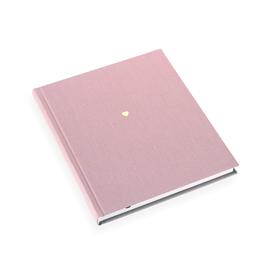N. book 170*200 Ottawa dusty pink unlined Little heart Gold