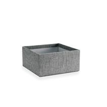 Petite boîte carrée ouverte, Pebble Grey