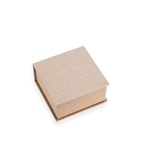Box with lid, Sand brown