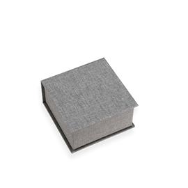 Box with lid, Light grey