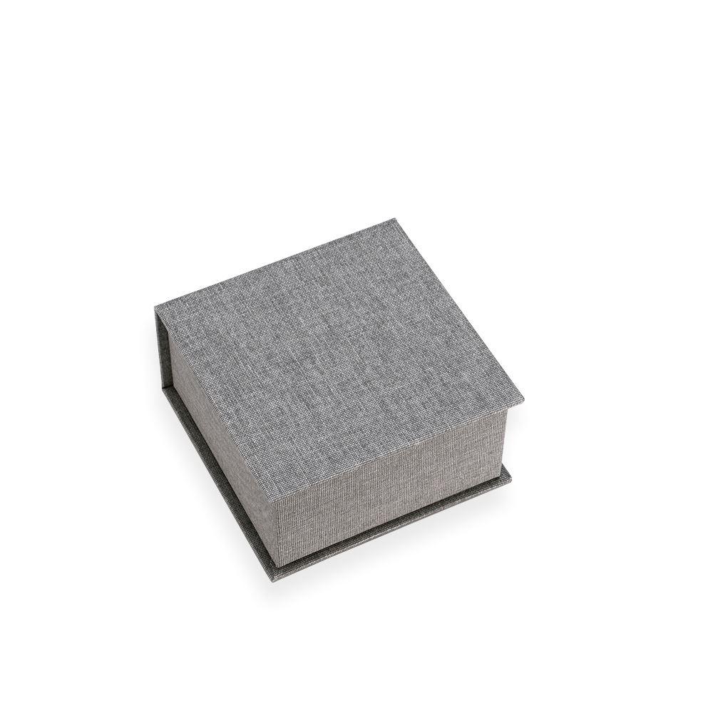 Box square small 120*120 Record Light grey