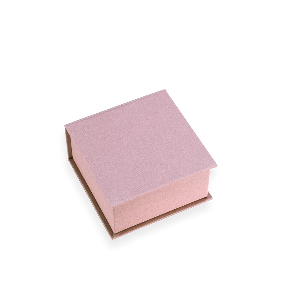Box square small 120*120 Ottawa Dusty pink