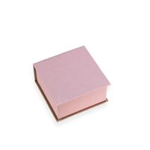 Box square small 120*120 Ottawa Dusty pink