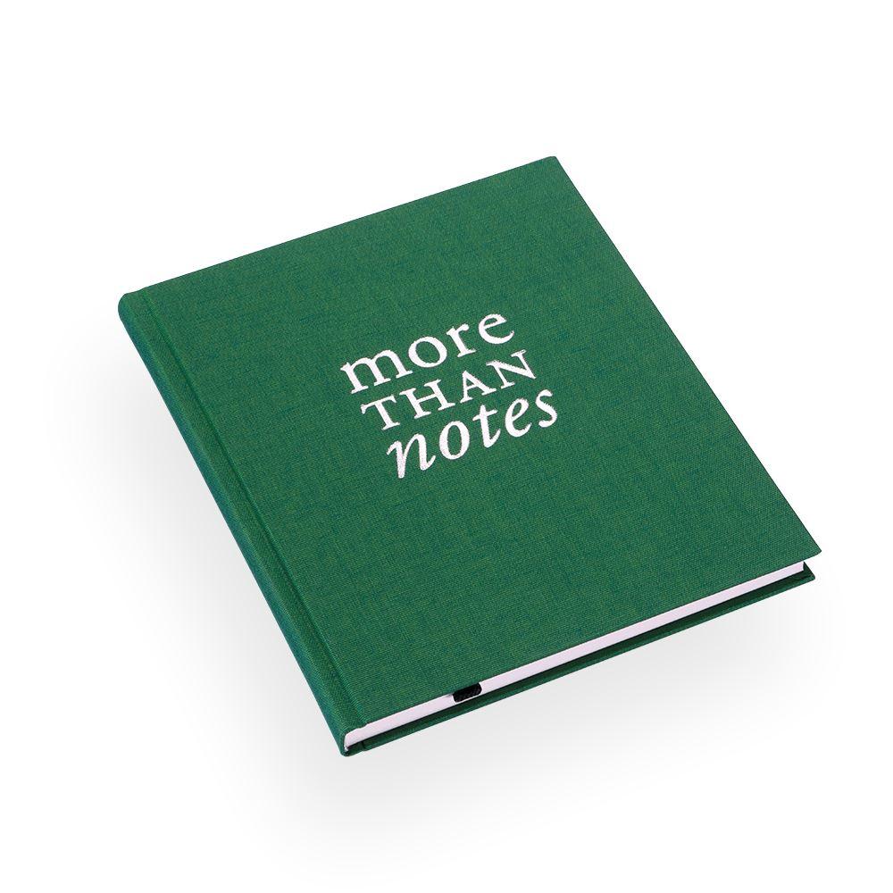 "Skrivbok ""More than notes"" grön"