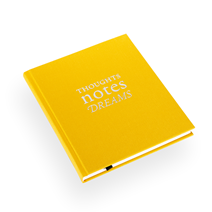 "Notebook ""Thoughts"" Yellow"