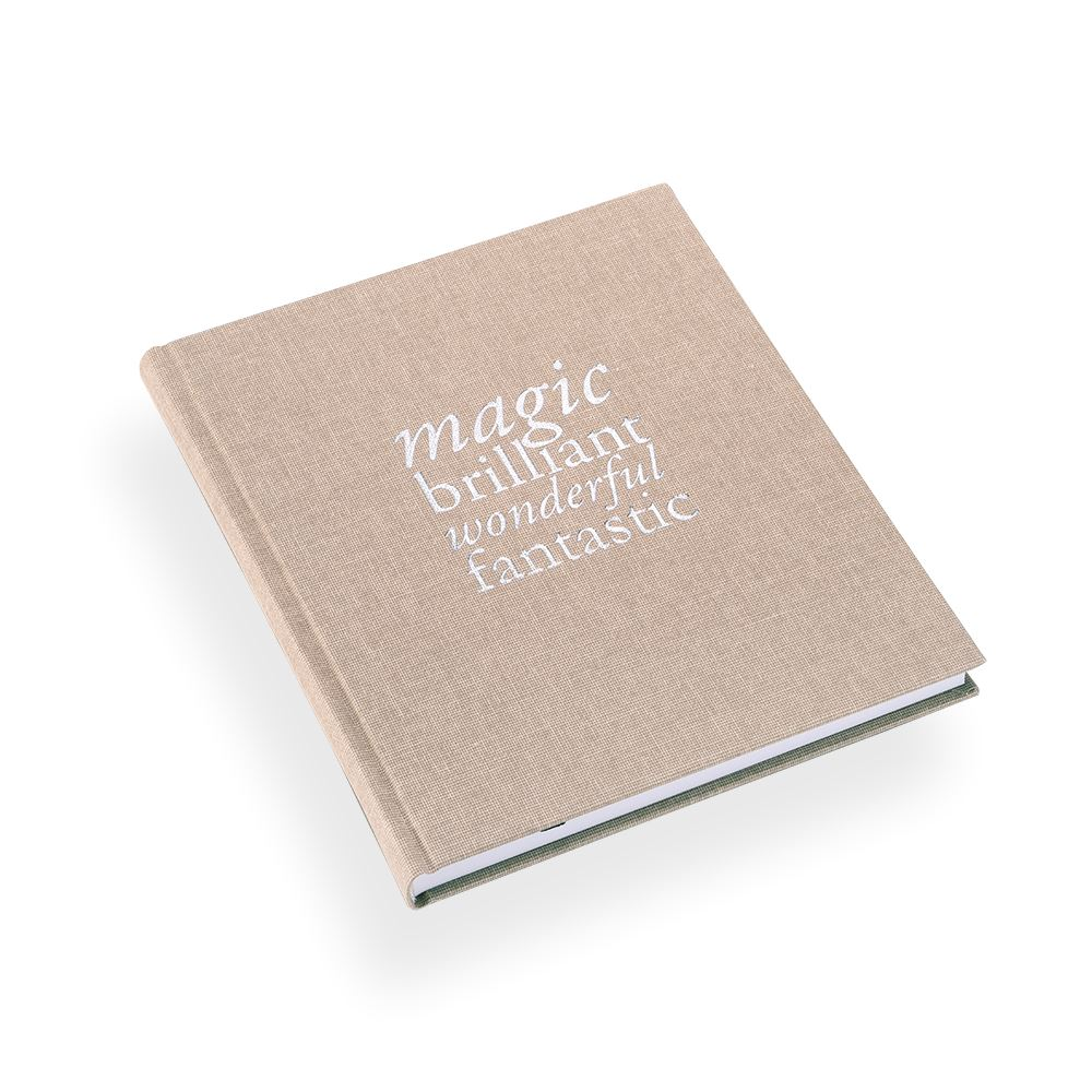 "Notebook ""Magic Brilliant"" Sand"