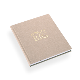 "Notebook ""Dream big"" Sand"