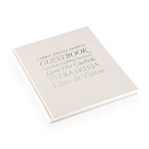 "Guestbook ""Libro Degli…"" Ivory"